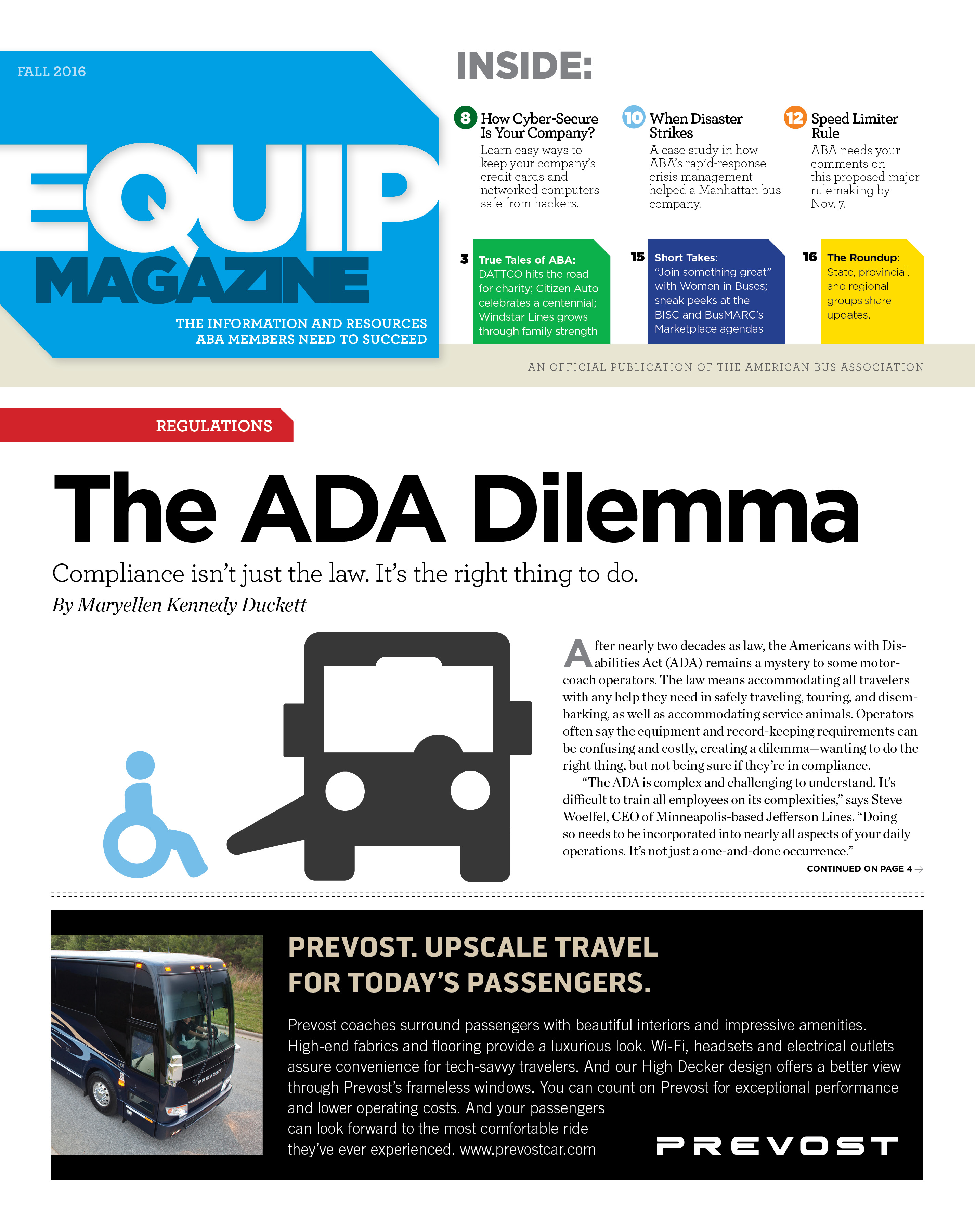 Comprehensive ADA Compliance? Find Out in Latest Issue of